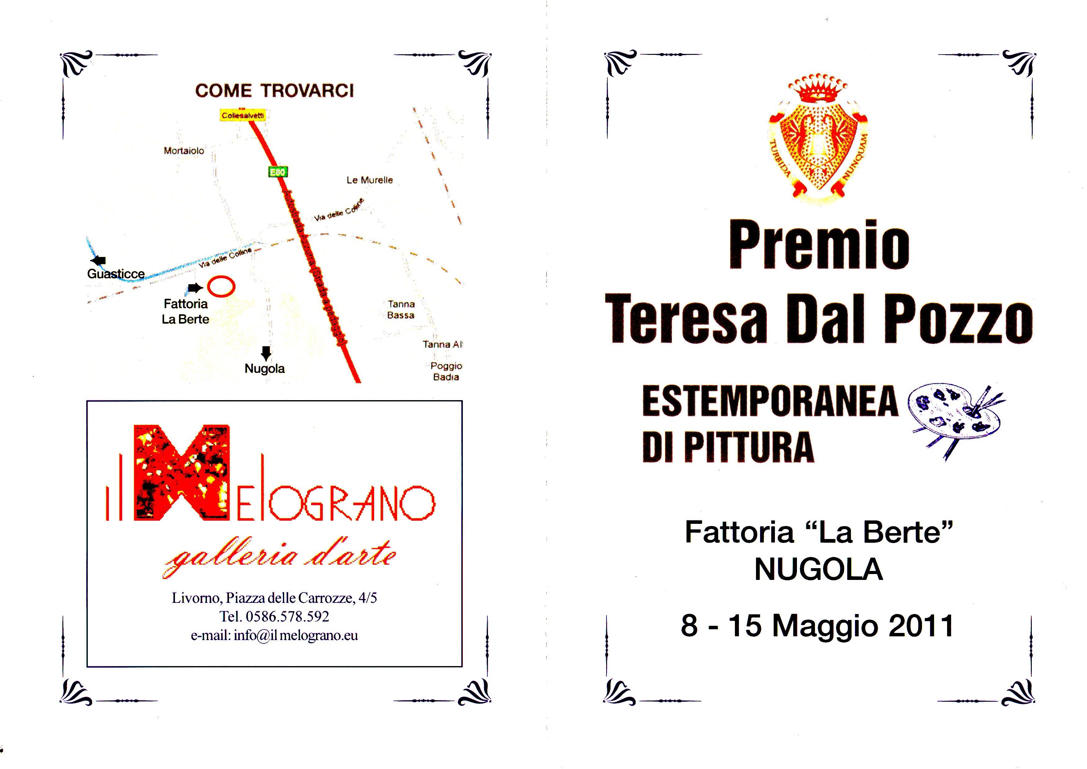 PREMIO TERESA DAL POZZO  8-15 maggio 2011