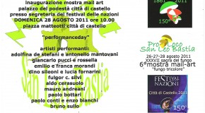 Performanceday – Città di Castello 2011