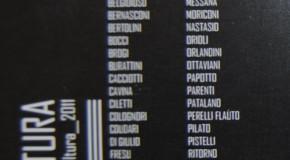 ARS FUTURA: percorsi nella scultura 2011. Massimo Bertolini…..