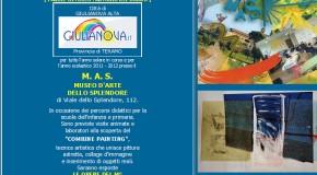 ANTONIO DEL DONNO, per tutto l'anno, a Giulianova Alta, presso il M. A. S. Museo d'Arte dello Splendore