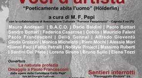 """M.Francesca Pepi: Crespina tra Arte e Natura . """"In/Sito. Voci d'Artista"""". Poeticamente abita l'uomo"""