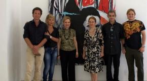 Lidia Bachis alla galleria il Melograno