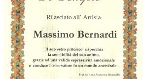 MASSIMO BERNARDI, premi..