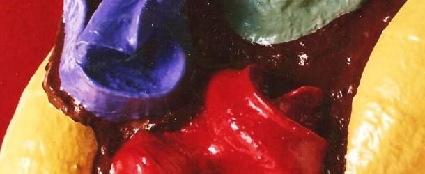 MASSIMO RICICLO: MAX BERNARDI, L'UOMO IN PLASTICA,  ALLA GALLERIA IL MELOGRANO