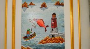 Siliana Lenzi, La pesca felice