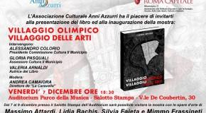 """LIDIA BACHIS a """"VILLAGGIO OLIMPICO VILLAGGIO DELLE ARTI  (7/12 – 9/12)"""