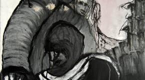 Richard Tisserant nel video di Sebastian Korbel alla galleria il Melograno