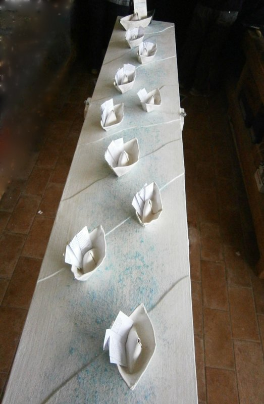 Palazzo Farnese, installazione finale