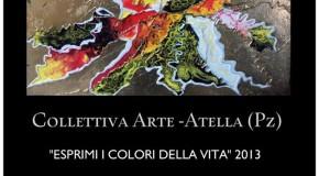 Filippo Capperucci, Elisabettta Ecca, Roberto Matto tra gli artisti di Esprimi i colori della vita, Atella (01/05 – 12/05)