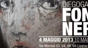 FONDI NERI. Personale di DIEGO GABRIELE  alla galleria Il Melograno a Livorno (04/05 – 10/05)