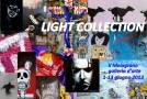 Light collection: da 50 a 500!  (The Wall of Art). Mostra collettiva alla galleria Il Melograno, Livorno (01/06 – 13/06)