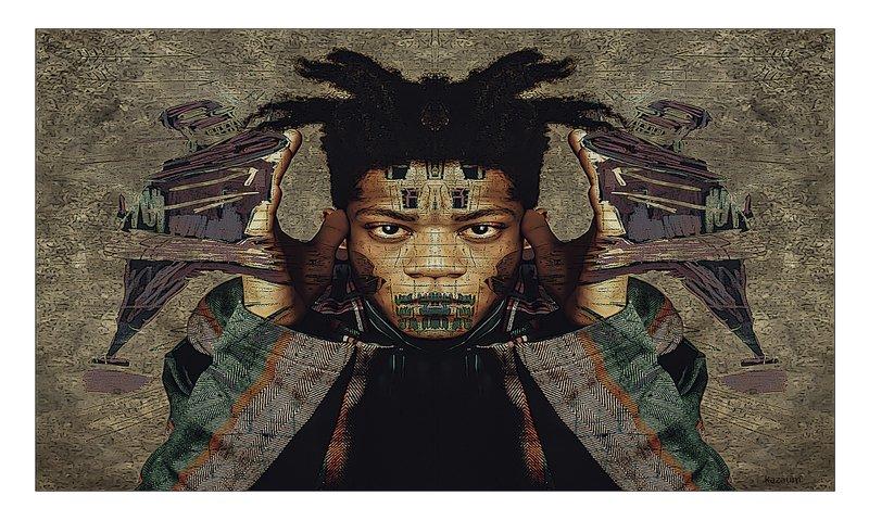 Napola Kazaum Basquiat colla