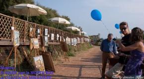 L'esposizione al VILLAGGIO MIRAMARE di Livorno per la Notte Blu