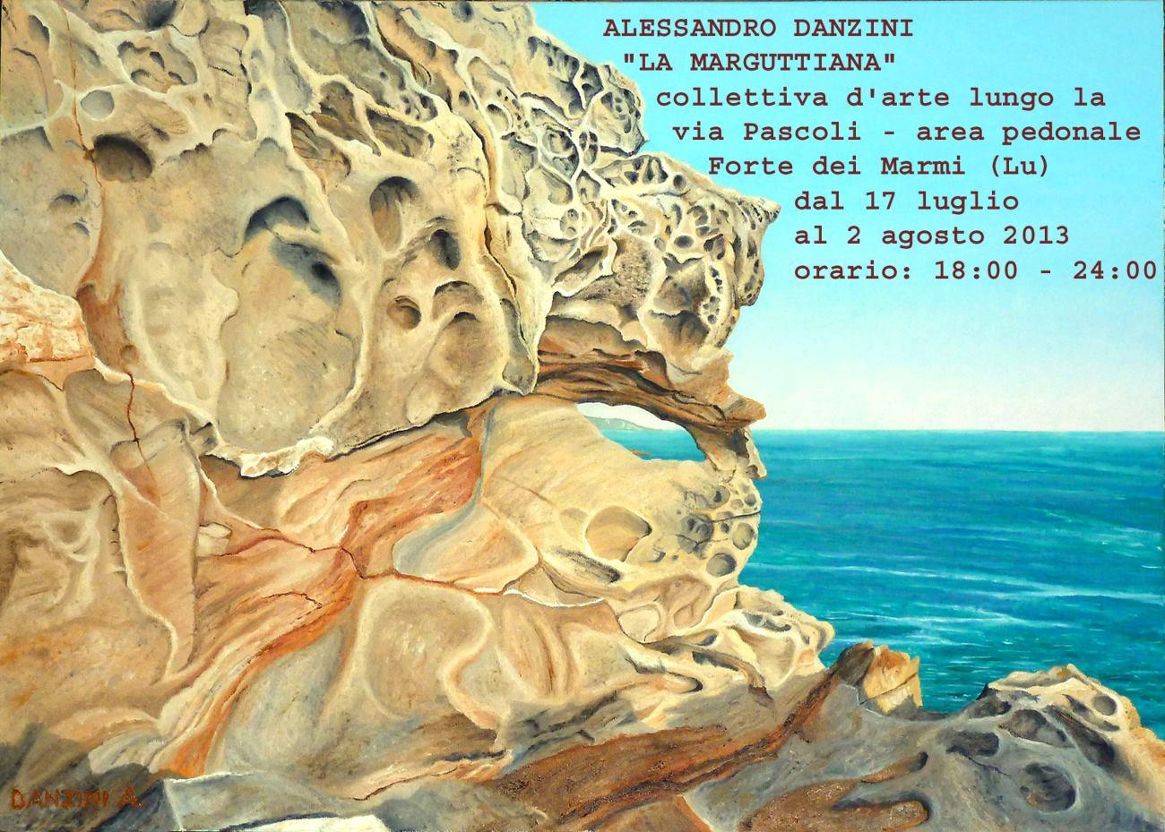 Alessandro Danzini a La Marguttiana. Forte dei Marmi, (17/07 – 02/08)