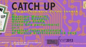 Performance visivo – sonora di Massimo Massimi, Massimo Rossetti e Giuseppe Staffa al Festival Internazionale di Musica Elettroacustica del Conservatorio S. Cecilia – Roma – 25/10