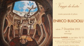 ENRICO BULCIOLU – showroom Barbieri – zona Picchianti – Livorno – 7/12