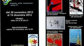 LINGUAGGI D'ARTE – 5 ARTISTI, TRA I QUALI FABRIZIO GAVATORTA, ALLO SHOPPING CENTER MONDOVICINO – MONDOVI' -(30/11 – 15/11)