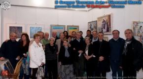 La mostra del gruppo Toscana Arte Giovanni March – Il Melograno galleria d'arte