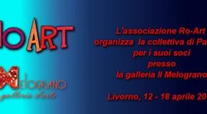 L'Associazione Ro-Art  organizza la collettiva di Pasqua per i suoi soci presso  la galleria Il Melograno