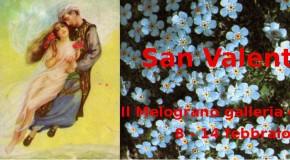 SAN VALENTINO –  rassegna alla galleria IL MELOGRANO – LIVORNO – (08/02 – 14/02)