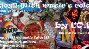 ANDREA CONTI E CLAUDIO CALVETTI – Refresh your eyes by CO.CA  – galleria Il Melograno – Livorno (15/03 – 21/03)