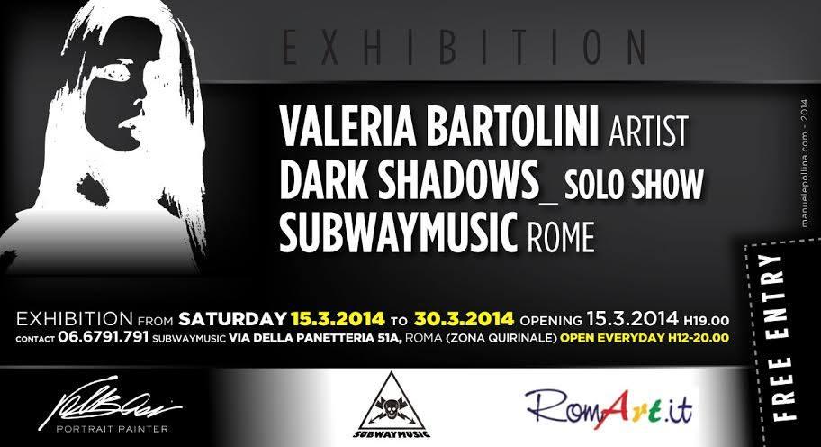 valeria bartolini dark shadows  subwaymusic roma