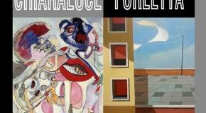 GUIDO CHIARALUCE  e ENZO FORLETTA – GALLERIA SPAZIO40 – ROMA – 05/04 -11/04