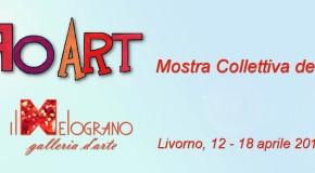 MOSTRA COLLETTIVA DEI SOCI DI RO-ART ALLA GALLERIA IL MELOGRANO – LIVORNO – 12/04 – 18/04
