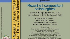 MOZART E I COMPOSITORI SALISBURGHESI Certosa Monumentale di Calci – 21/06
