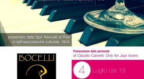 "Cantina Jazz – Navicelli Spa – Pisa – 04/07 – Prosegue la mostra di Claudio Calvetti ""Only for Jazz lovers"""