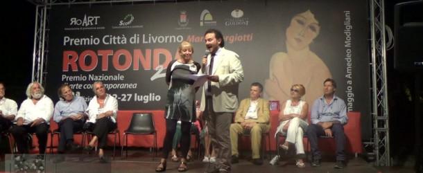 Premiati al Premio Rotonda Livorno 2014 tre artisti negli stands di galleria Il Melograno