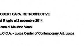 ROBERT CAPA RETROSPECTIVE – a cura di Maurizio Vanni – 05/07 – 02/11 @ Lucca | Lucca | Toscana | Italia
