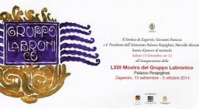 Il Gruppo Labronico a Zagarolo per la sua Sessantatreesima Mostra – 13/09 – 05/10