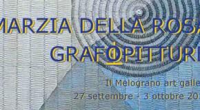 Marzia Della Rosa – Grafopitture – Il Melograno galleria d'arte – 27/09 – 03/10 @ Livorno | Livorno | Toscana | Italia