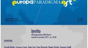 Europa Paradigma Est 2 – Trieste – 04/11 – 28/02