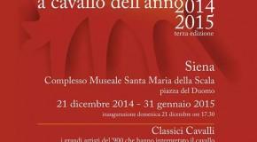 A cavallo dell'anno – Siena – 21/12 – 31/01