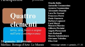 Alessandro Danzini a Firenze – Merlino Bottega d'Arte – 31/01 – 10/02