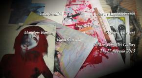 Le carte di L.Troiano P.Consani A.Lephilipponnat M.Barraco R.Tisserant L.Serasini Il Melograno Art Gallery