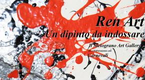 """UN DIPINTO DA INDOSSARE  Andrea Renda presenta """"RenArt"""" –  Dalla pittura alle T-shirt  – LIVORNO/PIOMBINO – 22/03"""