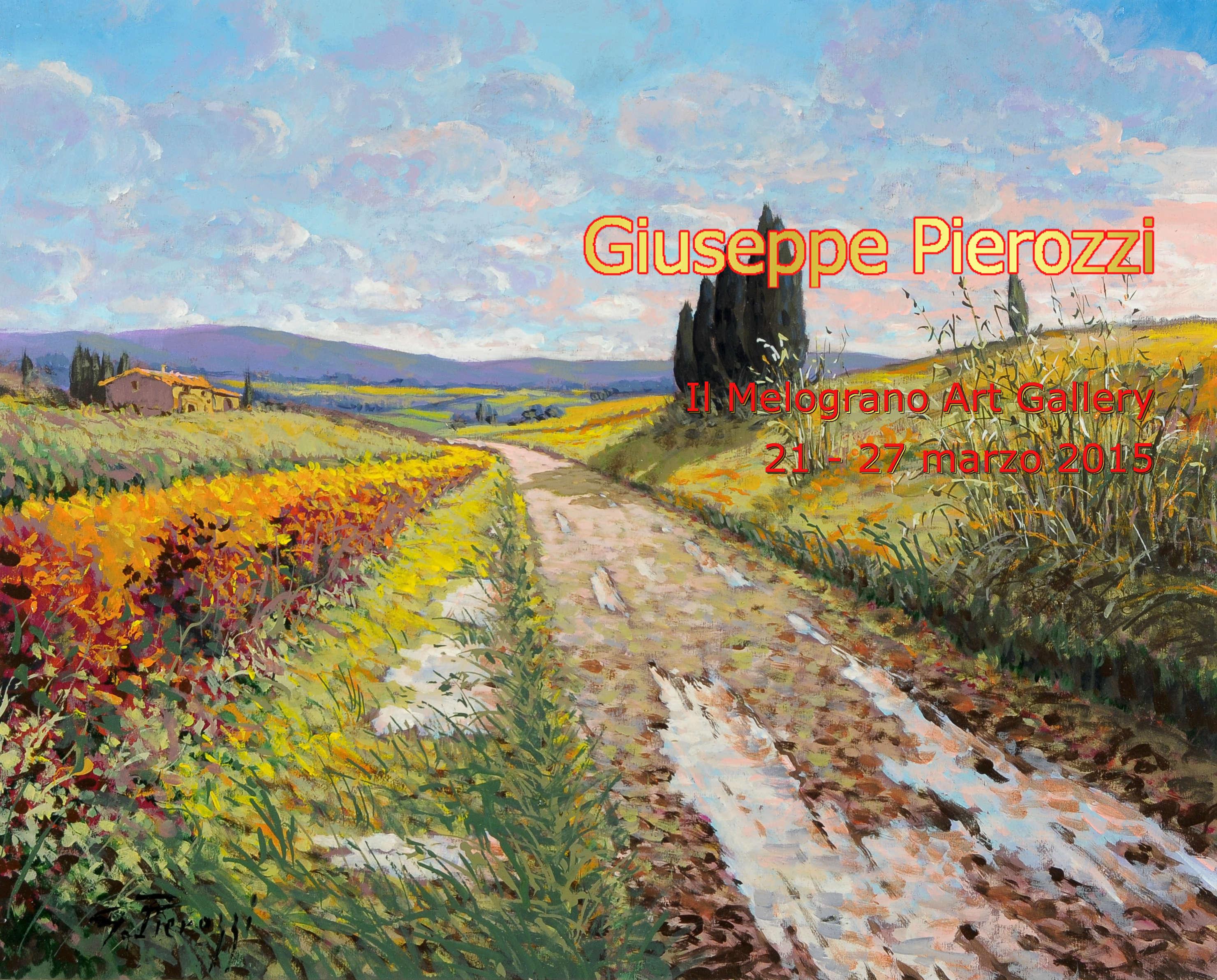 Giuseppe Pierozzi Il Melograno Art gallery