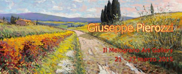 Giuseppe Pierozzi – Mostra personale alla galleria Il Melograno – Livorno – 21/03 – 27/03