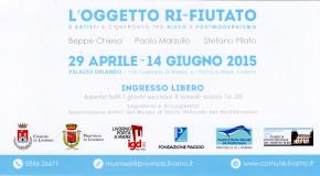 L'Oggetto Ri-fiutato Beppe Chiesa  Paolo Marzullo Stefano Pilato – Livorno – 29/04 – 14/06