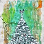 escalation---dettaglio---2013---tecnica-mista-su-carta-antica---24x29-circa
