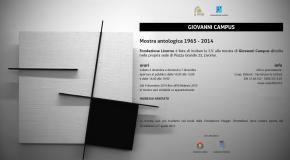 Giovanni Campus – Granai di Villa Mimbelli – Livorno – 15/05 – 14/06