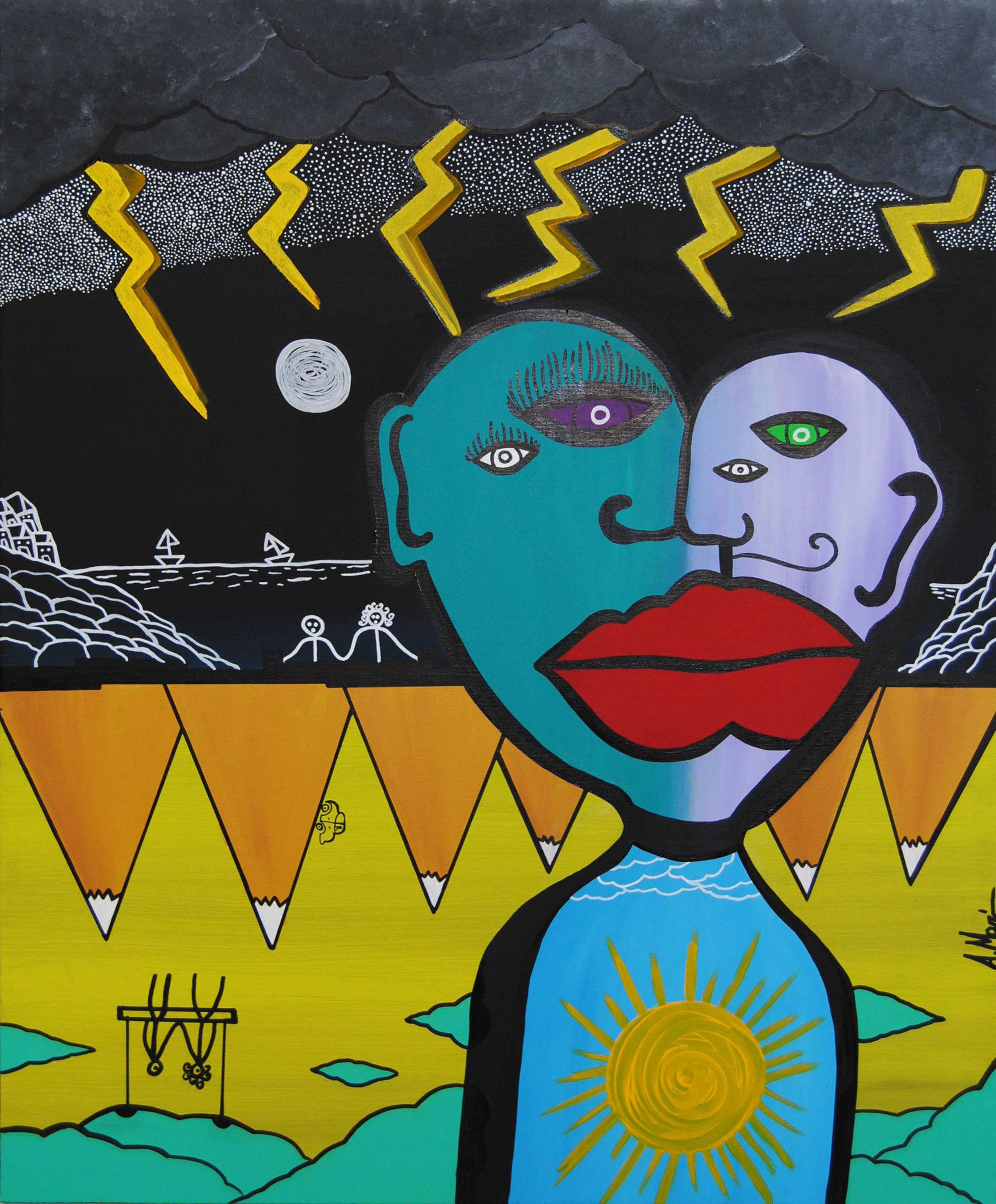 Alfonso Marino Il bacio di Picasso