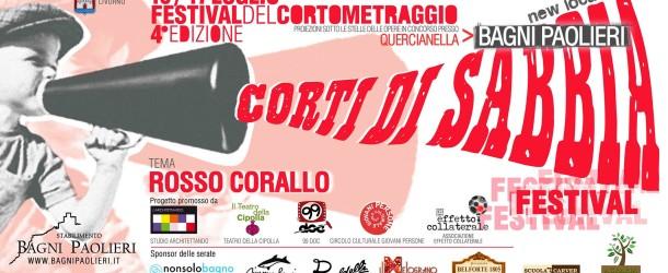 Corti di sabbia – Festival del cortometraggio – Quercianella – 16/07 – 17/07