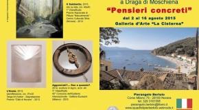Pierangelo Bertolo – Draga di Moschiena – 02/08 – 16/08