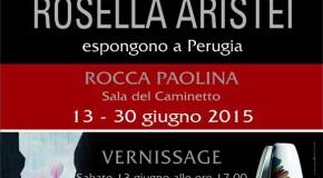 Angelo Dottori e Rosella Aristei – Rocca Paolina –  Perugia – 13/06 – 30/06