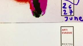 Arti Evasive – Mostra Collettiva 2015 – Direzione Artistica Luca Bellandi – Livorno – 26-27 giugno