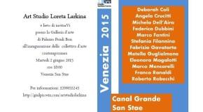Passaggio in laguna – A cura di Loreta Larkina  Venezia – 01/06 – 10/06